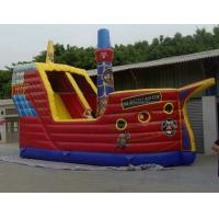 Wholesale Durable PVC Tarpaulin Inflatable Sports Games , Slide Funny With 8L x 8W x 4H Size from china suppliers