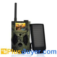 Wholesale Solar-Shot - PIR Game Hunting Camera With 1500mAh Solar Panel (1440x1080, Night Vision, MMS) from china suppliers