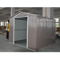 Wholesale Colorful Apex Metal Shed from china suppliers