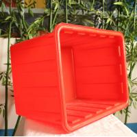 Wholesale rectangular shape HDPE food grade  Plastic fish storage tank for sale  in China plastic container factory from china suppliers