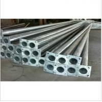 Wholesale Decorative Parking Lot Lighting Poles , Street Lighting Columns 5m-12m Length from china suppliers
