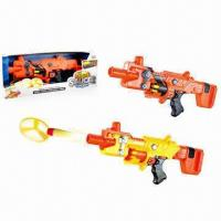 Wholesale Electric Flying Saucer Foam Dart Guns with 2 Colors SST from china suppliers