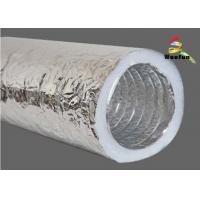 Wholesale HVAC System Customized Size 2 Layers Insulated Flexible Ducting Flexible Insulated from china suppliers