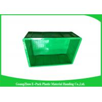 Wholesale Industrial Small Plastic Stackable Containers , Plastic Moving Containers from china suppliers