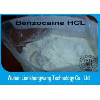 Wholesale Benzocaine Hydrochloride Powder Pain Killer Drug CAS 23239-88-5 GMP Certification from china suppliers