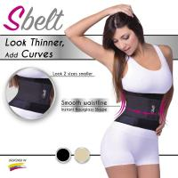 Buy cheap chwhite S'BELT Breathable Waist Tummy Belt Sport Body Shaper Trainer Corset -Body Shaper from wholesalers