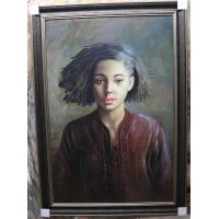 Quality hand painted portrait figure oil painting for sale