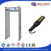 Wholesale 24 Zones full body Walk Through metal detector AT300C Airport Archway metal detector from china suppliers