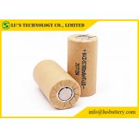 Quality nicd 1.2v 1800mah sc 1.2v Ni-CD rechargeable battery 10C 20A bateria for sale