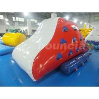 Wholesale Red Inflatable Iceberg With 2 Sides Climbing For Swimming Pool from china suppliers