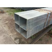 Wholesale Structural SS400 Welded Square Steel Tubing With Hot Rolled / High Frequency from china suppliers