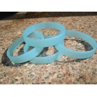 Buy cheap logo debossed without filling color silicone bracelet manufacturer from wholesalers