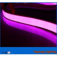 Wholesale purple pvc tube led neon flex 220v 120leds/m for outdoor decoration from china suppliers