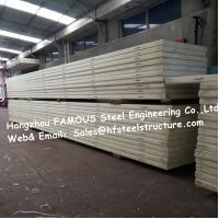 Wholesale Floor / Ceiling 50mm 75mm Insulated Cold Room Panel Freezer Wall Panels from china suppliers