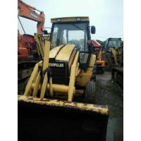 Wholesale 2010 usa Used caterpillar front end loader heavy machinery CAT backhoe loader 416 420e yellow skid steer loader from china suppliers