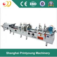 Quality Crash Lock Bottom Folder Gluer Machine With Remote Control Airplanes 0-220m / min for sale