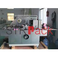 Quality Tobacco Transparent film packaging Machinery Solutions , Cellophane Wrapping Machine for sale
