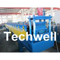 Wholesale Top Hat Channel Cold Roll Forming Machine for Steel Furring Channel Profiles from china suppliers