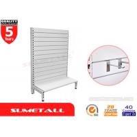 Wholesale Shop Display Supermarket Gondola Store Shelving With Slat Wall Backing from china suppliers