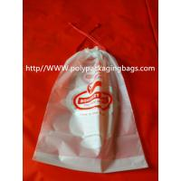 Buy cheap Moisture Resistant Drawstring Plastic Bags / Drawstring Storage Bags from wholesalers