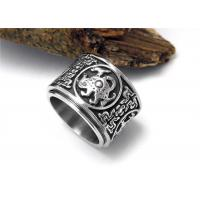 Wholesale Cool Stainless Steel Rings Flesh Heavy Jewelry Unique Retro Mens Dragon Rings from china suppliers