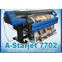 Wholesale 1.8/3.2m Eco Solvent Printer A-Starjet 7702L with 2pc Epson Dx7 from china suppliers