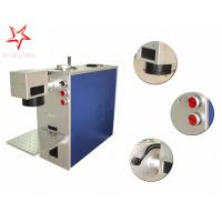 Wholesale Dot Pin 20W Fiber Laser Marking Machine Easy Operation Laser Marking Equipment from china suppliers