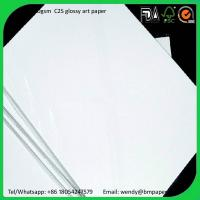 Wholesale 200 230 250gsm 61*86cm Gloss Coated 2 Side Art Paper Couche Paper Matt Paper from china suppliers
