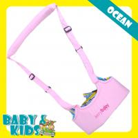 Wholesale Cute Cotton Pink Infant Toddler Baby Safety Products Baby Walker With Straps from china suppliers