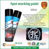Buy cheap Abrasion Resistant 500ml Marking Spray Paint / Survey Marker For Golf Courses from wholesalers