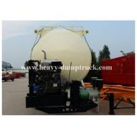 Wholesale Reinforced steel Cement semi Trailer for dry bulk powder material transportation with warranty from china suppliers