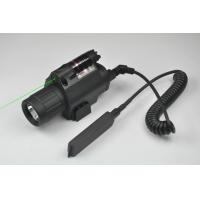 Wholesale Green Laser Sight and LED Flashlight Combo with Quick Rail Mount gun sight from china suppliers