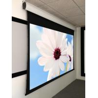 Wholesale 3D Silver Tab Tensioned Motorized Screen with RF IR control , 12V Trigger For home theater from china suppliers