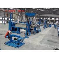 Fast Speed Cable Extrusion Line With Pvc Wire Extruder / Charging Machine