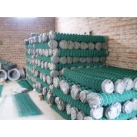 Buy cheap Low Carbon Steel Electro Chain Link Wire Mesh Fencing With 7-15G Per Square Meter Zinc Coating from wholesalers
