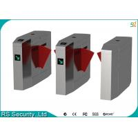 Wholesale Intelligent Flap Barrier Gate Physical Access Control Security Pedestrian Turnstile from china suppliers