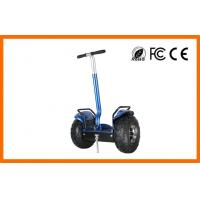 Wholesale 2000W Motor 19 inch tire off roading segway , Black offroad segway riding from china suppliers
