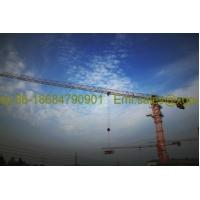 Wholesale External / Internal Climbing Tower Crane Lifting Height 120m Power 380V/50Hz from china suppliers
