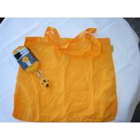 Wholesale Yellow polyester foldable Shopping bag-strong and waterproof bag from china suppliers