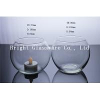 Wholesale Large Glass Hurricane Candle Holder, Blown Glass Cup from china suppliers