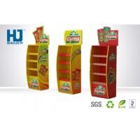 Wholesale Hot Sale Customized 4 Floors Corrugated Cardboard Pallet Display Stand for Food from china suppliers