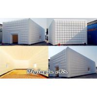 Buy cheap 8m*6m*4m Wedding Inflatable Cube Tent for Exhibition and Party from wholesalers