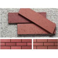 Wholesale Customized Red wire cut Split Face Brick for Exterior Wall Decoration from china suppliers