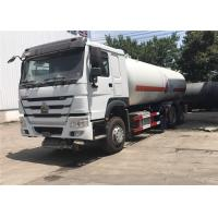 Wholesale 6x4 10 Wheels 20M3 LPG Gas Tanker Truck 20000L Color Customized For HOWO from china suppliers