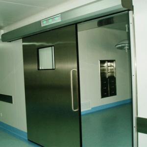 Medical Stainless Steel Airtight Sliding Doors/ Stainless Steel Hermetic Doors for Hospital Operation Rooms