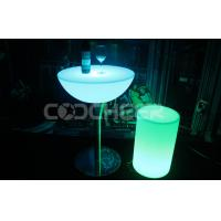Wholesale Plastic outdoor Led Bar Stools waterproof night club furniture from china suppliers