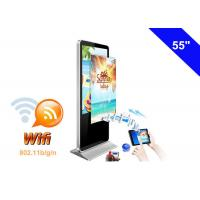 Wholesale WIFI Digital Signage Full HD Advertising LCD Display Kiosk with USB Memory card from china suppliers