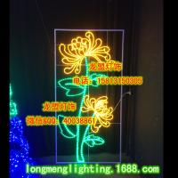 Wholesale flower light,motif light,christmas motif light,holiday decorative light from china suppliers
