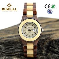 Wholesale Red Sandalwood And Maple womens wooden watches , Convex Len Calendar Design from china suppliers