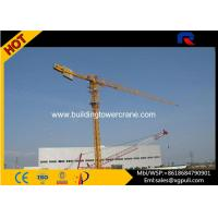 Wholesale 0.6r/Min Slewing Speed Topless Tower Crane For Constructions CE&ISO from china suppliers